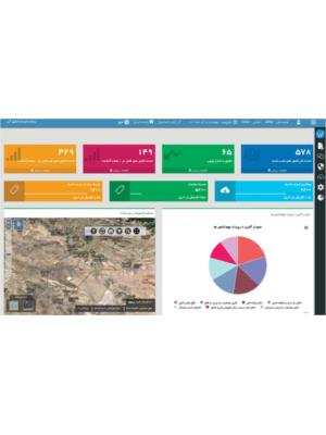 نرم افزار قرائت از راه دور کنتورهای هوشمند آب تحت وب WMDM